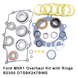 Ford M5R1 Overhaul Kit with Rings B2300 DTSBK247BWS