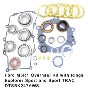 Ford M5R1 Overhaul Kit with Rings Explorer Sport and Sport TRAC DTSBK247AWS