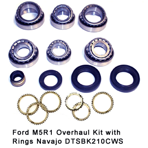 Ford M5R1 Overhaul Kit with Rings Navajo DTSBK210CWS