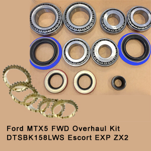 Ford MTX5 FWD Overhaul Kit DTSBK158LWS Escort EXP ZX21