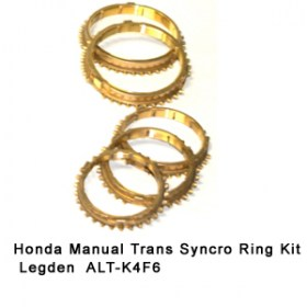Honda Manual Trans Syncro Ring Kit  Legden  ALT-K4F6