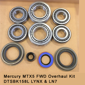 Mercury MTX5 FWD Overhaul Kit DTSBK158L LYNX & LN73